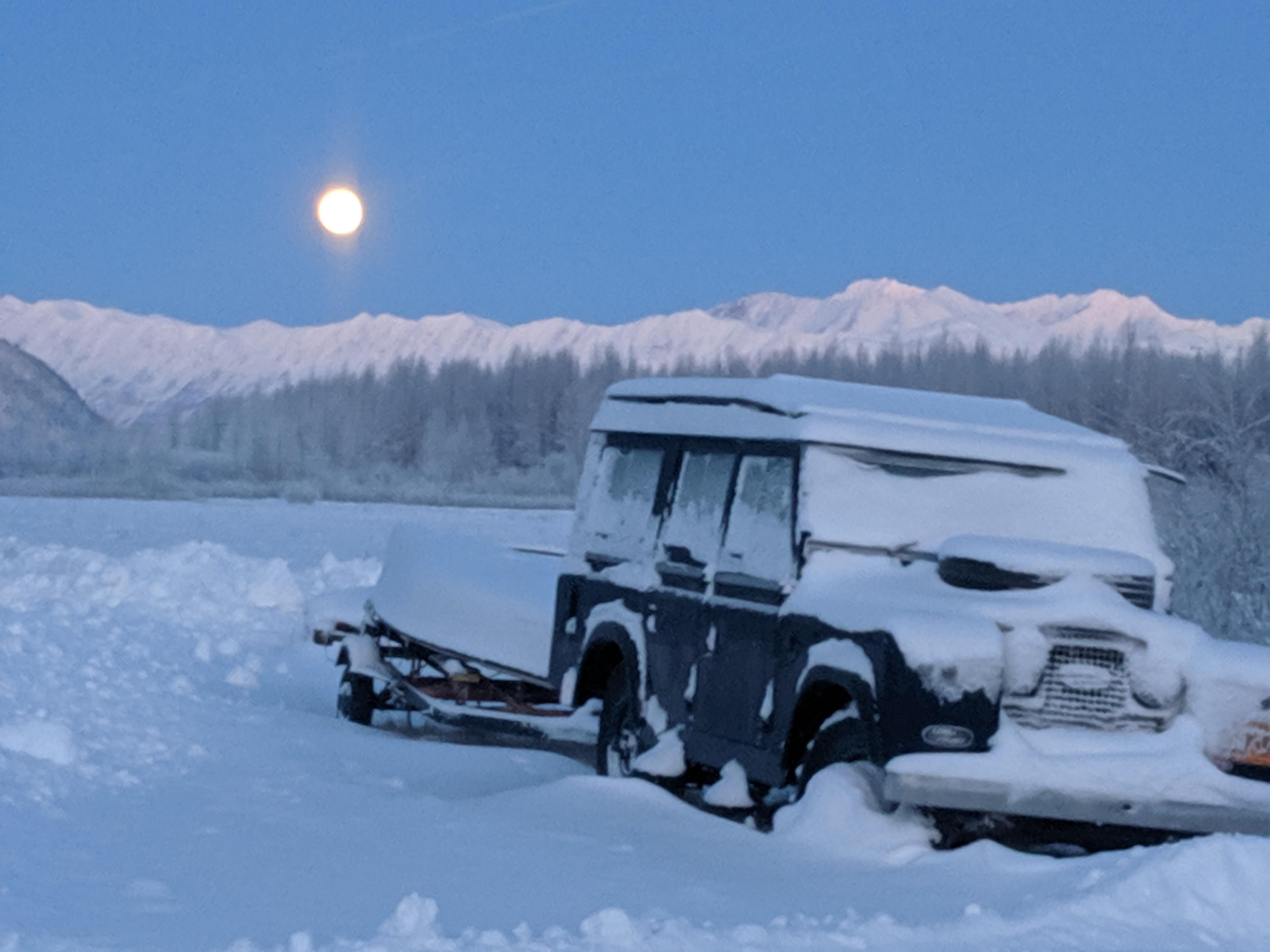 .Winterized Rover