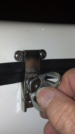 Stainless Steel Latches & Hinges