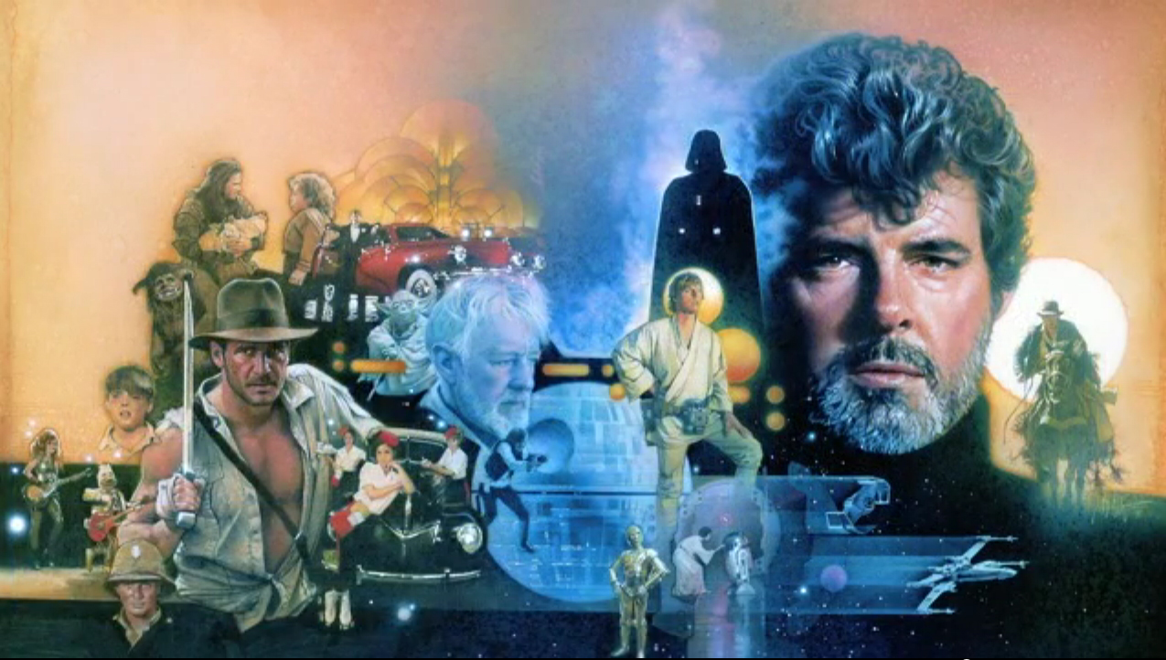 George Lucas by Struzan copy