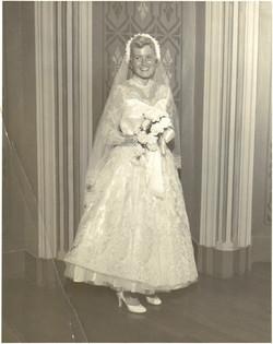 Donna Tomingas wedding dress