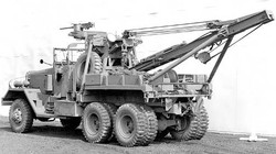 wwii military wrecker