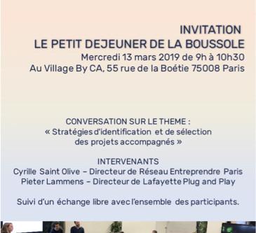 LES PETITS DÉJEUNERS DE LA BOUSSOLE #1