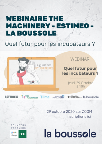 WEBINAIRE THE MACHINERY - ESTIMEO - LA BOUSSOLE