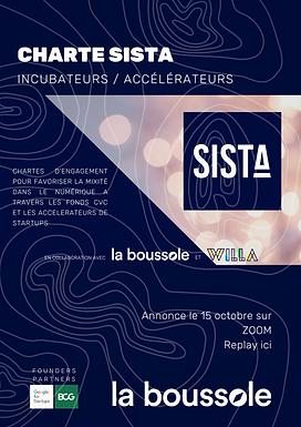 Charte SISTA Incubateurs / Accélérateurs