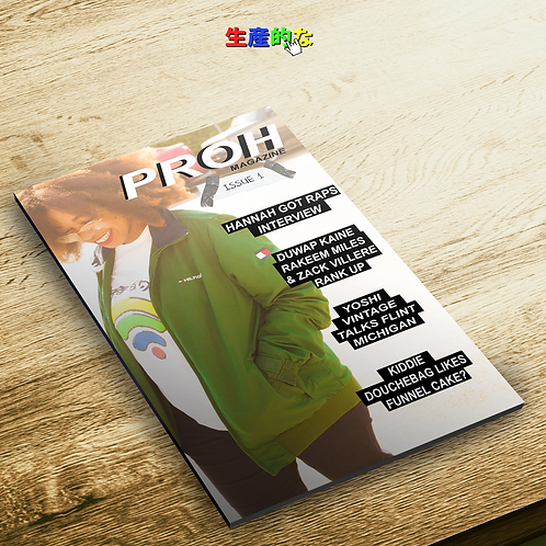 PROH MAGAZINE ISSUE 1