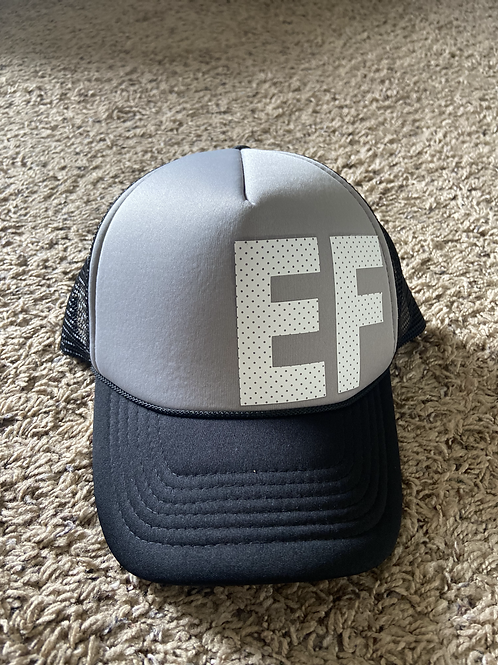 Black/Grey EF Trucker Hat