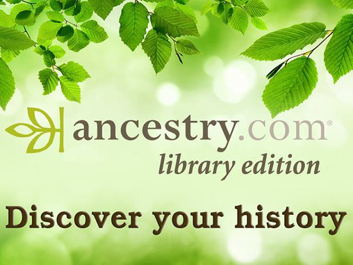 Ancestry.com Library Edition!