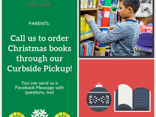 Request your Christmas books today!