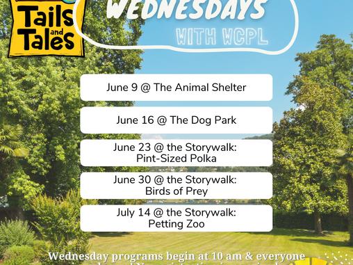 Summer Reading Wednesday Programs