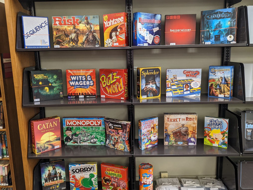New Board Game Collection @ WCPL!
