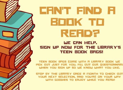 Teen Book Bags !