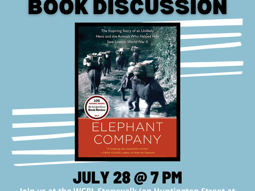 Adult Book Discussion