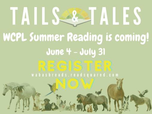 Register for Summer Reading!