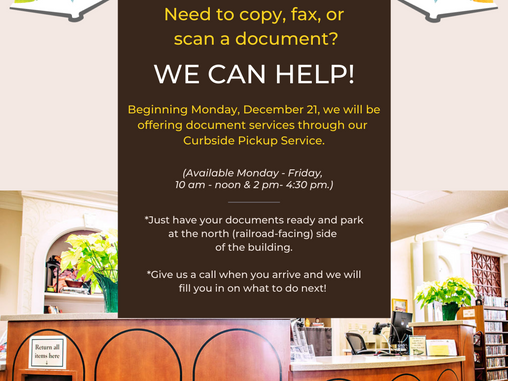 Curbside Document Services