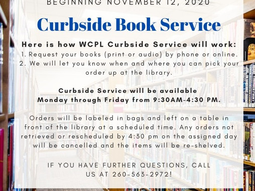 Curbside Book Service