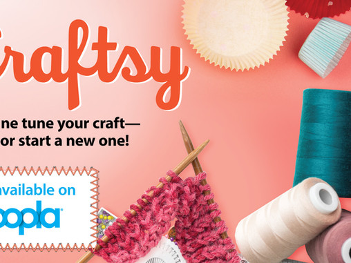 Craftsy is now available on Hoopla
