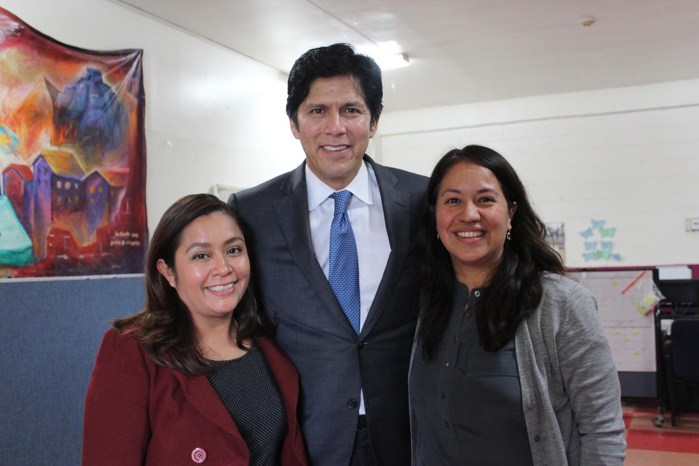 Senator Kevin de Leon Site Visit 2017.JP