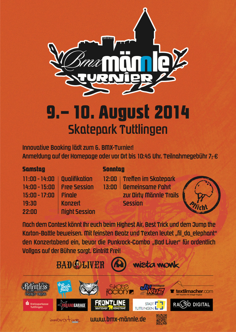 BMX Männle Turnier 2014