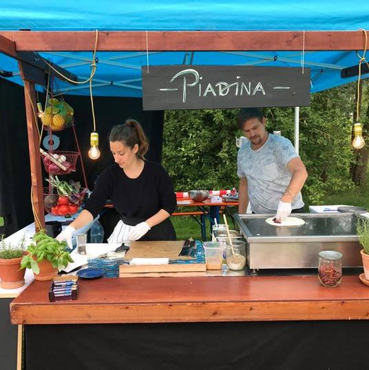 Leckerer Piadina-Einstand | 2017