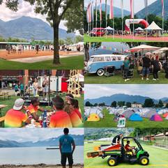 Swisscom Games am Lago Maggiore.