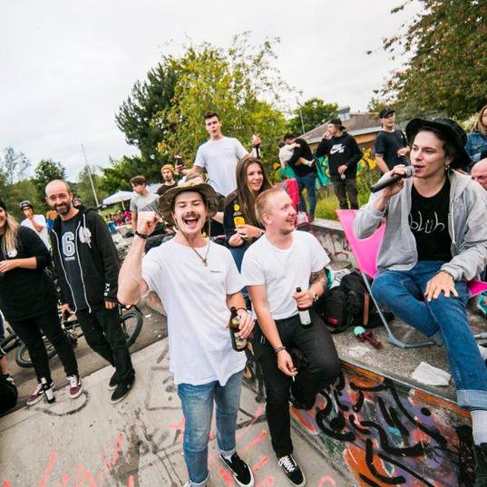 MC Huddl meets Jump the Karton | 2017