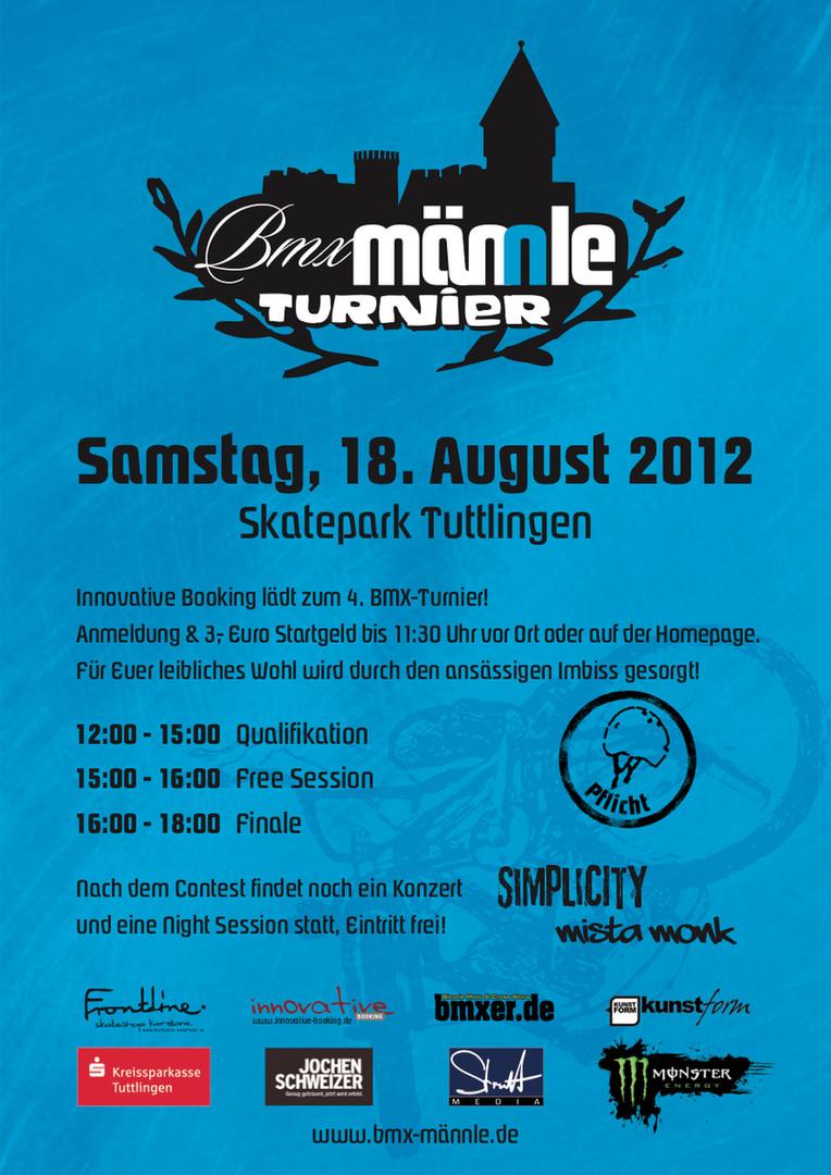 BMX Männle Turnier 2012