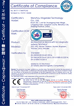 certificate of compliance entecerma biophilia-nsl bioresonancia hector arias orellana chile, argentina, italia