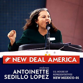 New Deal America Endorses Antoinette