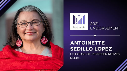 Matriarch PAC Endorses Antoinette