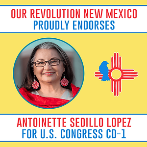Our Revolution New Mexico Endorses Antoinette