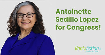 Roots Action PAC Endorses Antoinette