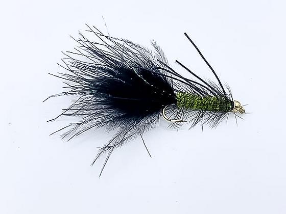 Wooly Bugger Olive BH - Variation