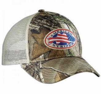 Flying Fisherman Trucker Hat American Striper Camo
