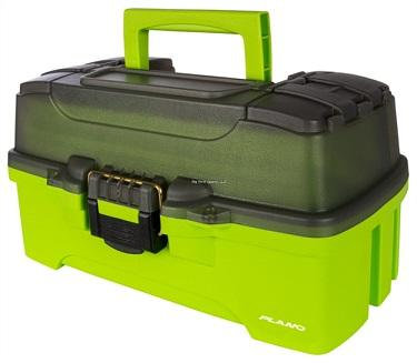 Plano 1-Tray Tackle Box Bright