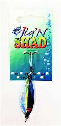 Wahoo Tackle Jig N Shad Spoon 3/4 ounce