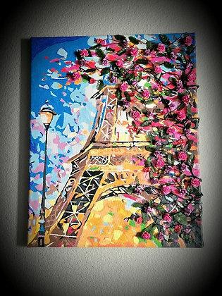 3D Eifel Tower picture