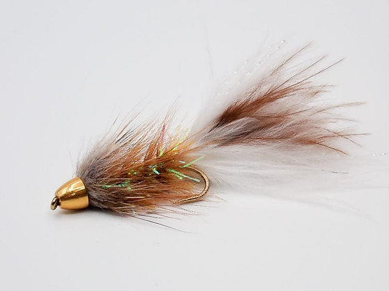 Wooly Bugger Conehead Brown Bomber