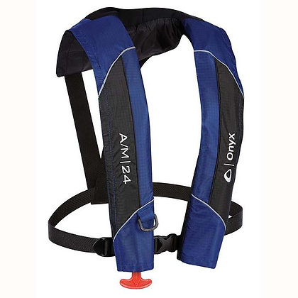 Onyx Automatic/Manual Life Jacket Blue A/M-24