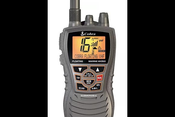 Marine Radio HH350 FLT Handheld Floating VHF Radio – 6 Watt