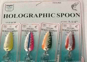 FJ Neil Holographic Spoons