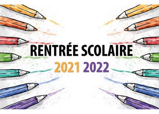 Planning de rentrée 2021-2022