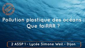 """Pollution plastique des océans : que faiRRR ? Un reportage vidéo  des 2 ASSP 1 pour """"Océan & Climat"""