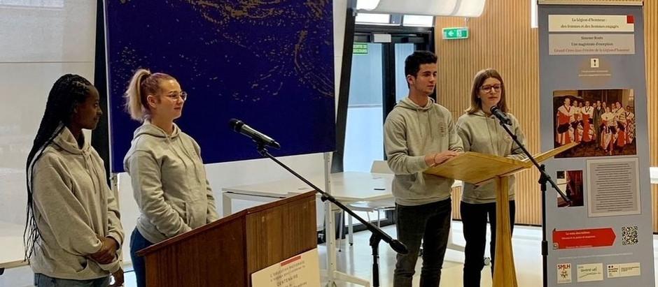 Débat d'éloquence - 4 étudiants de BTS ESF à l'honneur !