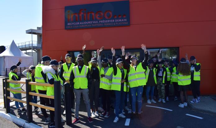 Visite de l'entreprise INFINEO