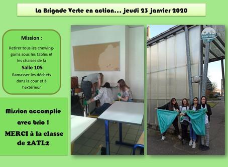 Brigades Vertes en action...               23 janvier 2020