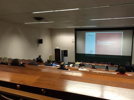 """Colloque """"Journée académique de l'innovation"""" du 16 janvier 2019"""