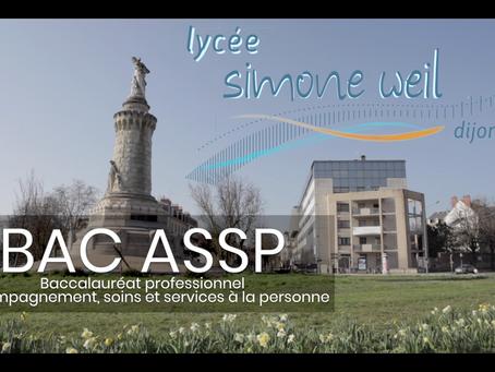 La formation Bac Pro ASSP en vidéo !