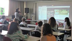 Démarche de développement durable : Mme la Rectrice au lycée Simone Weil
