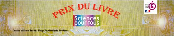"""Prix du livre """"Sciences pour tous"""" 2020 - Lycée Simone Weil"""