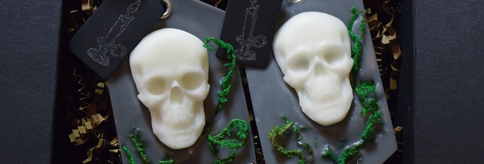 Gift Set: 2 Gothic Scented Wax Sachets